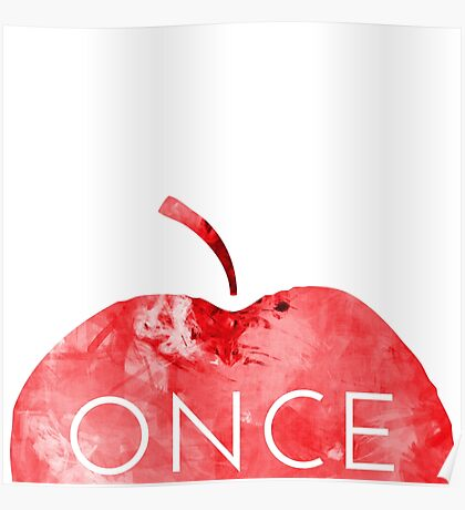 Once Upon A Time-Apple Poster