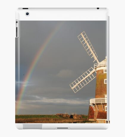 Cley Windmill and Rainbow 2010 iPad Case/Skin