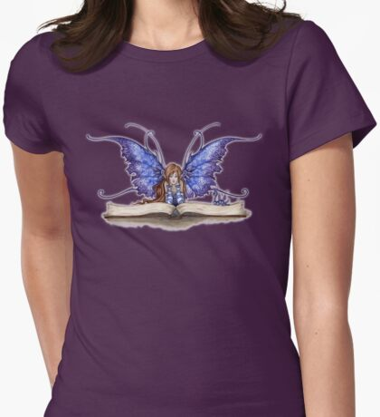 Book Worm  Womens Fitted T-Shirt