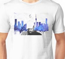Drake - Watercolors (Blue) Unisex T-Shirt