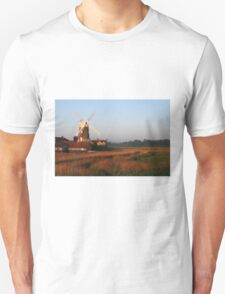 Cley Windmill at Dawn T-Shirt