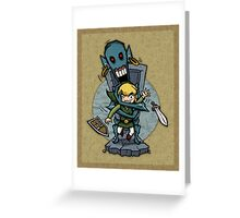 Zelda Wind Waker ReDead  Greeting Card