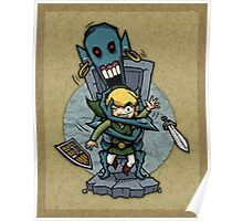 Legend of Zelda Wind Waker ReDead T-Shirt Poster