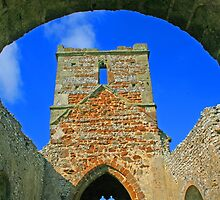 Ruins of Knowlton Church by RedHillDigital
