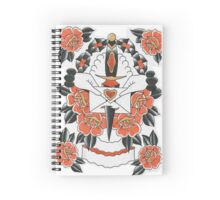 Dagger and Roses Spiral Notebook