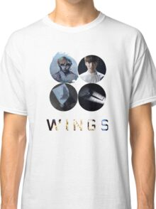BTS-WINGS-BEGIN [WHITE] Classic T-Shirt