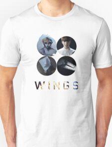 BTS-WINGS-BEGIN [WHITE] Unisex T-Shirt