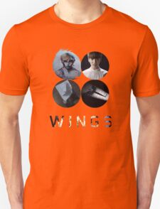 BTS-WINGS-BEGIN [WHITE] Unisex T-Shirt