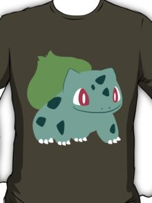 Pokemon - Bulbasaur #001 by AronGilli T-Shirt