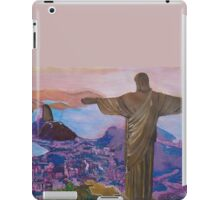 Rio De Janeiro With Christ The Redeemer iPad Case/Skin