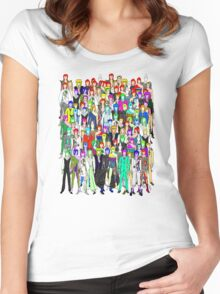 Tokyo Punks One Women's Fitted Scoop T-Shirt
