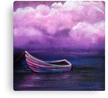 Bitter Berry Sea Canvas Print