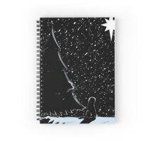 Christmas Dog Spiral Notebook