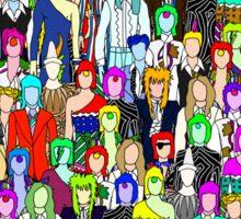 Bowie Zombies Sticker