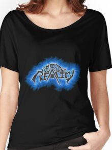 Revising Reality Illuminated Being Logo Women's Relaxed Fit T-Shirt