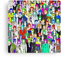 Bowie Zombies Canvas Print