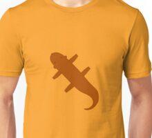 Brown Flat Carpet Otter Unisex T-Shirt