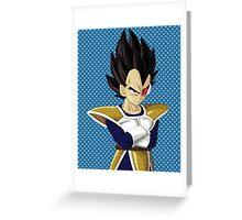 vegeta Greeting Card