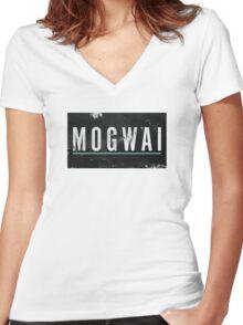 mogwai band poster Women's Fitted V-Neck T-Shirt