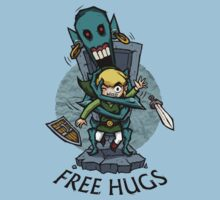 Legend of Zelda Wind Waker FREE HUGS T-Shirt by Purrdemonium