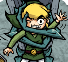 Legend of Zelda Wind Waker FREE HUGS T-Shirt Sticker