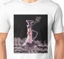 JEANNIE IN A BOTTLE..MAKE A WISH...THROW PILLOW-TOTE BAG-TABLET CASE-IPHONE COVER ECT. Unisex T-Shirt