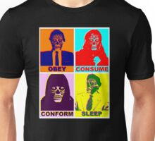 They Live - Popart Unisex T-Shirt