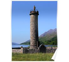 The Glenfinnan Monument Poster
