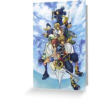 kingdom hearts Greeting Card