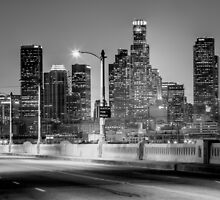 Downtown Los Angeles Skyline by Graham Gilmore