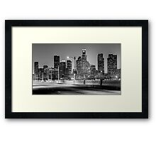 Downtown Los Angeles Skyline Framed Print