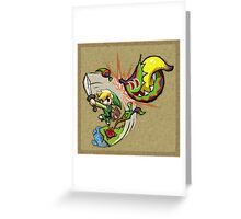 Zelda Wind Waker Boko Baba Greeting Card