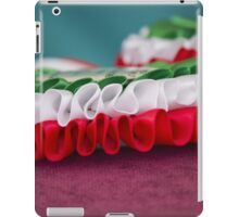 Italian cockade iPad Case/Skin