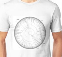 Tree of Life Hillis Plot Unisex T-Shirt