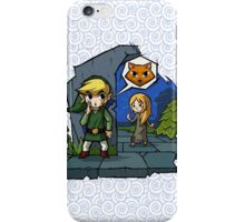 Legend of Zelda Wind Waker Meow T-Shirt iPhone Case/Skin