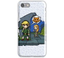 Zelda Wind Waker Meow iPhone Case/Skin