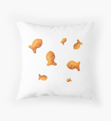Goldfish Scattered Throw Pillow