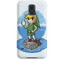 Legend of Zelda Wind Waker Bottle of Milk T-Shirt Samsung Galaxy Case/Skin