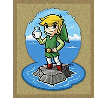 Legend of Zelda Wind Waker Bottle of Milk T-Shirt Photographic Print