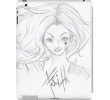 Faith (buffy the vampire slayer) iPad Case/Skin