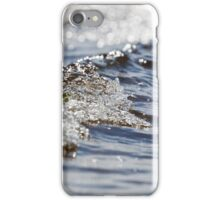 Waves rolling into shore iPhone Case/Skin