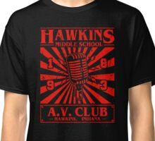 Hawbkins Middle school AV Club Classic T-Shirt