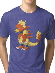 Magmar - Side View Tri-blend T-Shirt