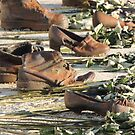 Shoes - Momument at the Danube - Budapest by mikequigley