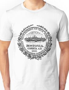City of Boston - City Seal, Boston Massachusetts Unisex T-Shirt