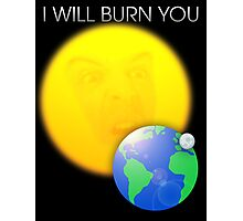 Moriarty - I Will Burn You Photographic Print