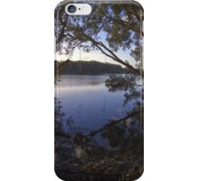Rope Swing over Lake Ainsworth iPhone Case/Skin