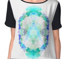 Home: Stargate Abstract Chiffon Top
