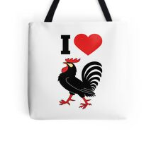 I love cock Tote Bag