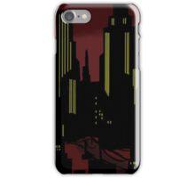 Batman The Animated Series Gotham City iPhone Case/Skin